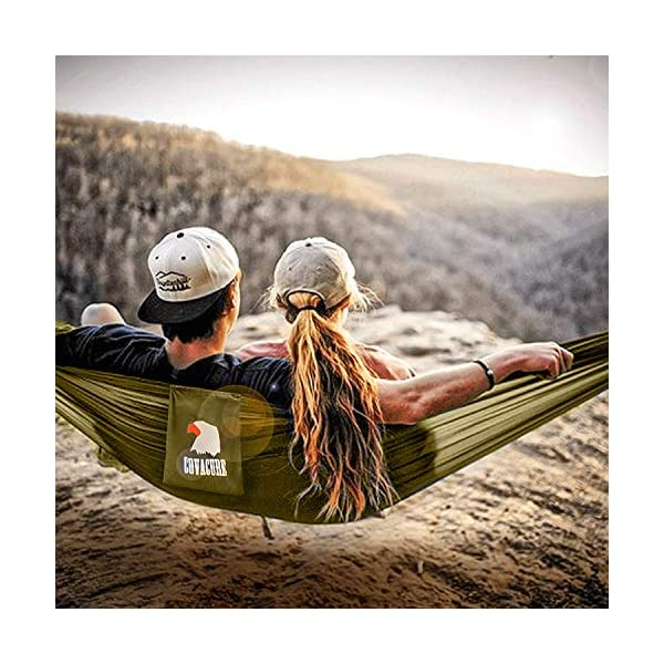 Camping Hammock with Mosquito Net - Outdoor Travel Hammock for Camping Hiking Backpacking 6