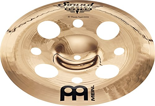 Meinl Cymbals SC10PTRCH-B Soundcaster Custom Serie 25,4 cm (10 Zoll) Piccolo Trash China