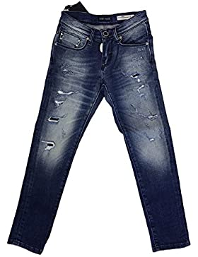Antony Morato Pantalone Jeans Skinny freddo Bambino MKDT00018 Blu Jeans Autunno/Inverno