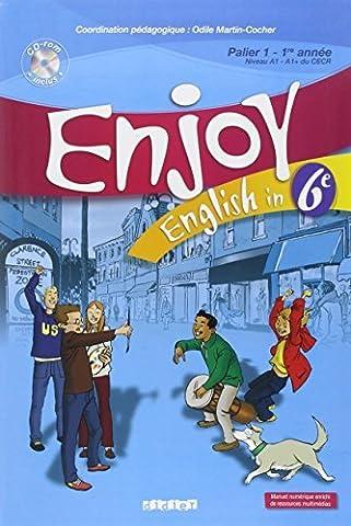 English in 6e Enjoy (1CD audio) by Michèle Meyer