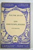 Les contemplations (extraits) - Larousse