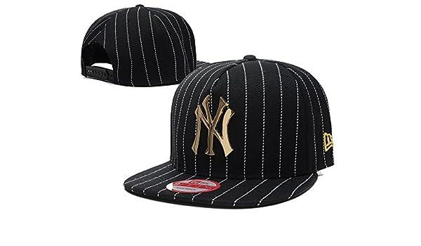 294b0ba79b2 Fashion New York Yankees Iron Standard Hip-hop Snapback Cap Hat   All 30  Major League Baseball Teams Official Hat Of Youth Little League And Adult  Teams