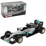alles-meine.de GmbH Mercedes-Benz AMG F1 W07 Nico Rosberg Nr 6 Formel 1 2016 Weltmeister 1/43 Bburago Modell Auto