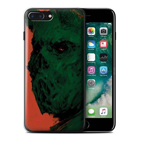 Offiziell Chris Cold Hülle / Case für Apple iPhone 7 Plus / Ungeheuer/Troll Muster / Wilden Kreaturen Kollektion Ungeheuer/Troll