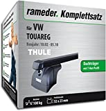 Rameder Komplettsatz, Dachträger SquareBar für VW Touareg (116408-04920-1)