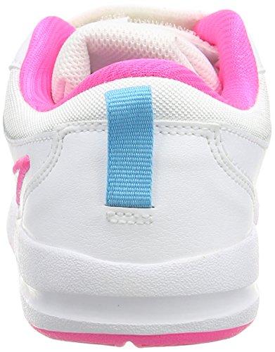 Nike Pico 4 PSV Scarpe Sportive, Bambino Bianco / Rosa / Blu