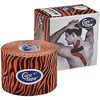 Cure Tape Art, 5 m x 5 cm, wasserfest, Tiger orange/schwarz preisvergleich bei billige-tabletten.eu