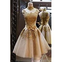 YL LY Vestido de Novia de la Boda Vestido de Novia Vestido de Novia Brindis Vestido de Dama de Honor Párrafo Corto,UN,S
