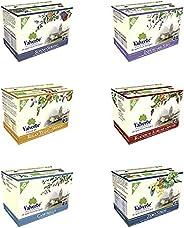 VALVERBE Mix 6 tisane Rilassanti biologiche - 120 g