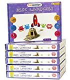 #5: Funvention (Pack of 6) Disc Launcher - DIY Science Educational Toy - STEM Learning Kit - Learn Newtons Law of Gravity with Fun Do It Yourself Innovative Toy Kit for Kids - Birthday Return Gift