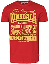 "Lonsdale ""Derbyshire"" T-Shirt (red)"