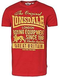 "Lonsdale ""Derbyshire"" T-Shirt (red)"