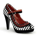 Pinup Couture Bettie-18 - sexy retro zapatos de tacón alto mujer plataforma - tamaño 35-42, US-Damen:EU-40/41 / US-10 / UK-7