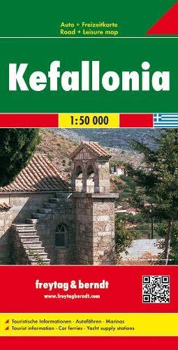 Cefalonia 1:50.000 .: Toeristische wegenkaart 1:50 000
