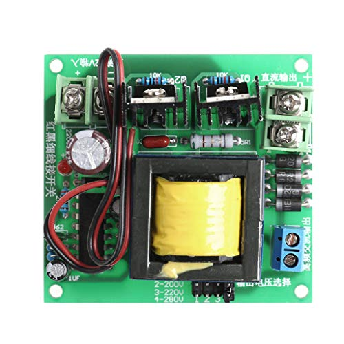 JimTw-UK DC-AC Konverter 12 V auf 110 V 200 V 220 V 280 V 150 W Inverter Boost Board Transformer -