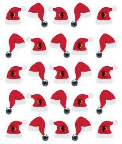 Boutique dimensionale adesivi-Santa Hat ripetizioni di