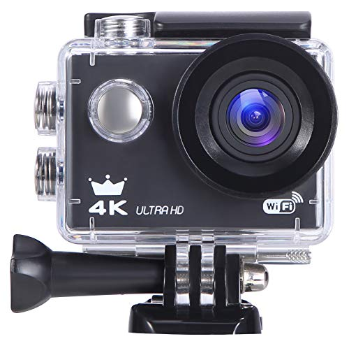 FOR ME 4K Ultra HD WiFi Wasserdicht Sport Actionkamera | 16MP IP68 Wasserdichte Action Kamera | 3840X2160 30fps | 170° Weitwinkel | 2,0 Zoll LCD | Camcorder Für Outdoor/Wasser / Wandern
