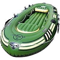 YGSYSC Kayak Inflable 6 Persona, la Canoa del kajak del Barco fijada PVC Inflable, Pesca Rafting con Bomba de paletas y de Aire for Deportes acuáticos de diversión