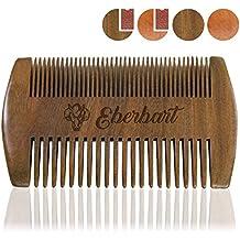 Eberbart Bartkamm – antistatischer Holzkamm für einen natürlich gepflegten Bart (Sandelholz)