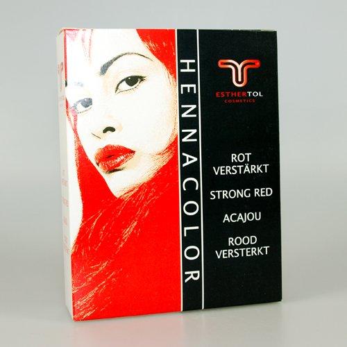Tol, Henna Pulver Rot Verstärkt 85 g