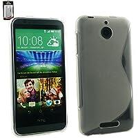 Emartbuy® HTC Desire 510 Ultra Slim Gel Hülle Schutzhülle Case Cover Clear