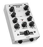 Pronomic DX-10BK DJ module de mixage argenté