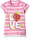 Hatley Girls Graphic Tee-Strawberry Sundae-Top Bambina    Multicolore(Pink) 6 anni