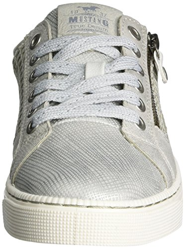 Mustang 1246-303-21, Sneakers Basses Femme Argent (21 Silber)