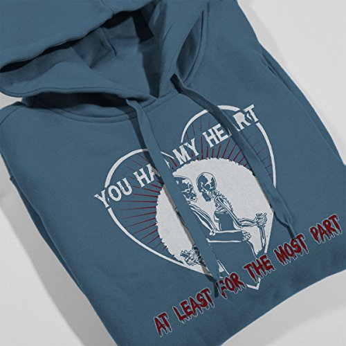 Avenged Sevenfold You Had My Heart Women's Hooded Sweatshirt Indigo Blue