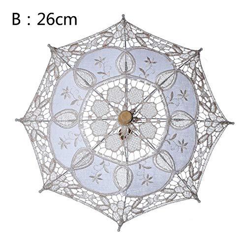 Sanmubo Lace Sonnenschirm Holzgriff Lace Umbrella Lace, gebraucht gebraucht kaufen  Wird an jeden Ort in Deutschland