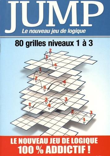 Jump : Le nouveau jeu de logique - 80 grilles niveaux 1  3