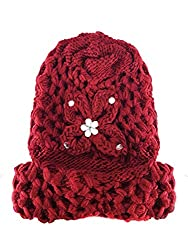 Stylish And Fancy Winter Woolen Cap For Girls And Women