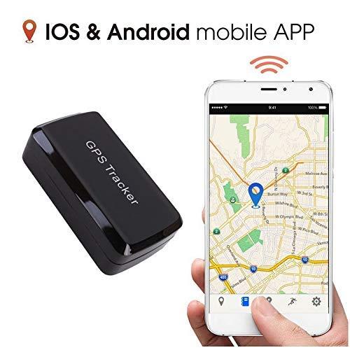 Magnético GPS Tracker, GPS/gsm/GPRS Sistema de Seguimiento sin cuota mensual, inalámbrico Mini...
