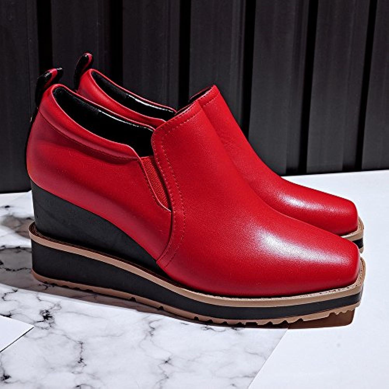 WU Chaussures de Sport Haut de Et Gamme Printemps Et de d'automne avec des Chaussures Profondes Et des Chaussures à... 86a660