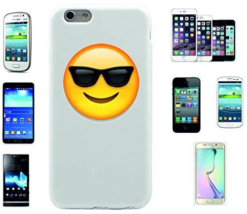 """Smartphone Case Apple IPhone 7 """"Gesicht mit Sonnenbrille"""", der wohl schönste Smartphone Schutz aller Zeiten."""