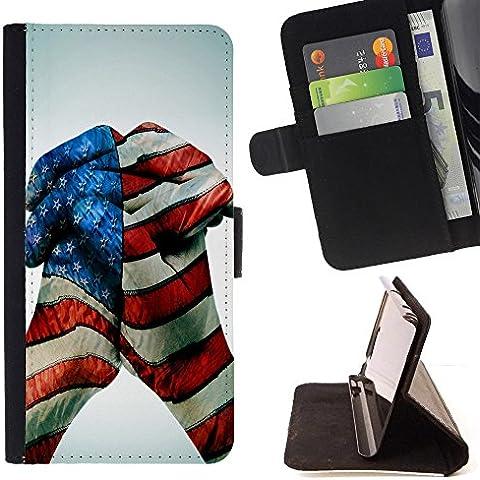 LG Stylus 2 / F720 LS775 K520DY F720K , Motivo scuro Noce imitazione legno - Portafoglio in pelle della Carta di Credito fessure PU Holster Cover in pelle case Per