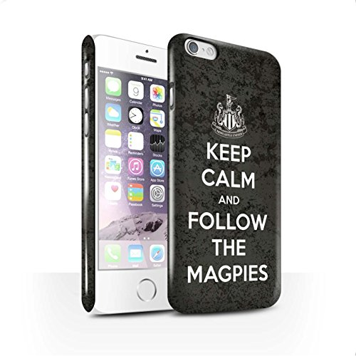 Offiziell Newcastle United FC Hülle / Glanz Snap-On Case für Apple iPhone 6S / Pack 7pcs Muster / NUFC Keep Calm Kollektion Folgen/Magpies