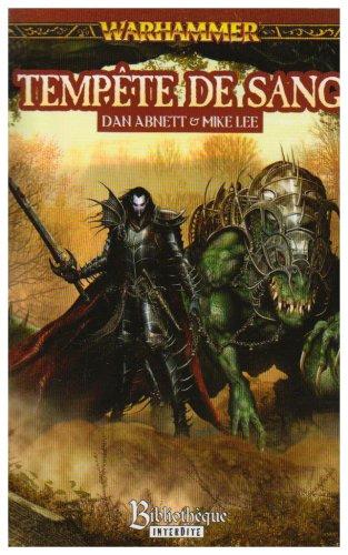 Malus Darkblade, Tome 2 : Tempête de sang par Dan Abnett