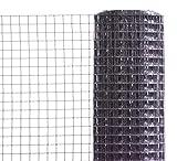 Volierendraht 19 x 1,1 x 500 mm anthrazit Rolle á 5 m