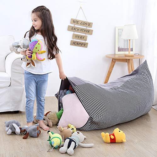 YHLVE Spielzeug-Aufbewahrungstasche, Stofftier-Organizer/weiche Bequeme Abdeckung, die gemütliche Liege, Bett für Spielzeug, Zimmer Zubehör