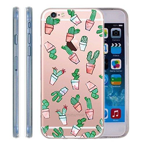 Cover Per iPhone 5S/SE,Hippolo Custodia Protettiva Shell Case Cover Per iPhone 5S/SE in Silicone TPU (Per iPhone 5S/SE, 9) 1