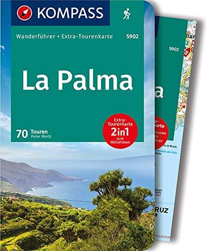 KOMPASS Wanderführer La Palma: Wanderführer mit Extra-Tourenkarte, 70 Touren, GPX-Daten zum Download.
