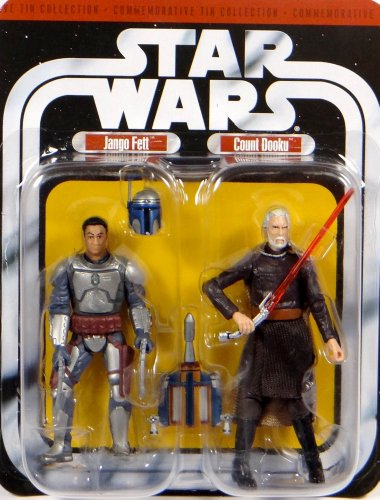 Count Dooku & Bounty Hunter Jango Fett