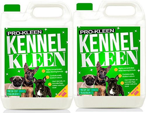 Pro-Kleen Kennel Kleen Cleaner & Deodoriser (Fresh Cut Grass Fragrance) – 10L Pack