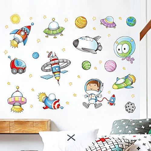 Cartoon Classroom Wall Aufkleber Kindergarten Klasse Layout Kinderzimmerwand Aufkleber Wand Dekorative Tapete Selbstklebendwandaufkleber Für Schlafzimmer Aufkleber Wandsticker Wohnzimmer Mit Diy Wand - Modernen-wand-einheit