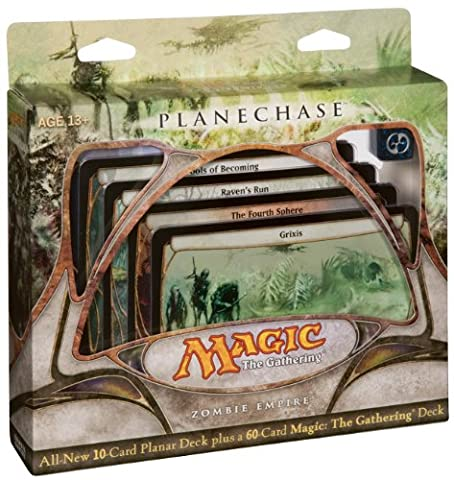 Magic the Gathering- MTG: Planechase - Zombie Empire - Game Pack