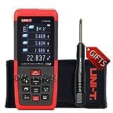 nktech Uni-T ut395b Laser-Entfernungsmesser 70m/230ft M/in/FT self-calibration für Fläche/Volumen/Abstand durchgehenden Test Datenspeicher USB-Anschluss Finder Diastimeter + tl-1Schraubendreher