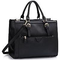 67beddcbe6e22 LeahWard Women's Handbags School College A4 Folder Ipad Bag Clearance Sale  Holiday Weekend 366