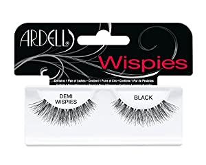 ARDELL Invisibands Lashes 100% Human Hair BLACK (Item:Demi Wispies)
