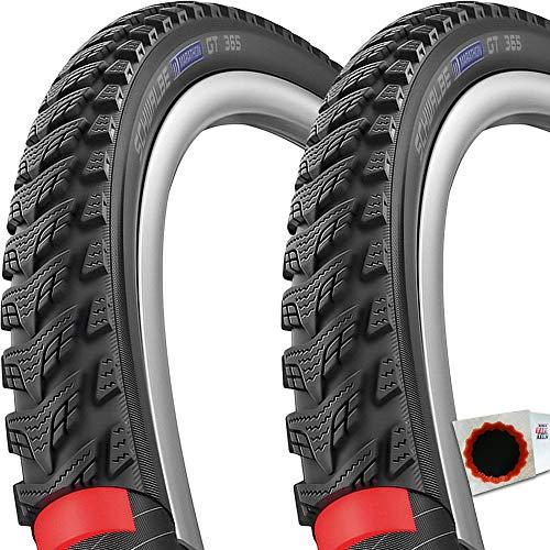 Schwalbe 2X Reifen Marathon GT 365 HS475 20x1,5 40-406 TS Reflex DG Perf. FS